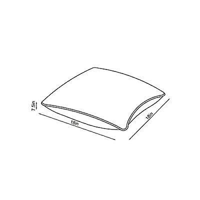 Sunjoy S-PL065PFB-B Outdoor Pillow, Blue : Garden & Outdoor