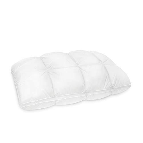 SensorPEDIC Euro Majestic Synthetic Down and Memory Foam Jumbo Fiber Bed Pillow White