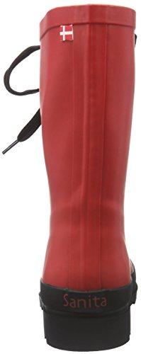 Stivali Welly di Flace 4 Sanita Red Rosso Donna Gomma 4 POnEqxw7