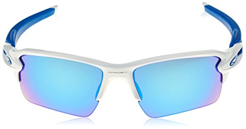 Sonnenbrille 2 XL FLAK Blanco White Oakley Polished 0 OO9188 vE1dqn