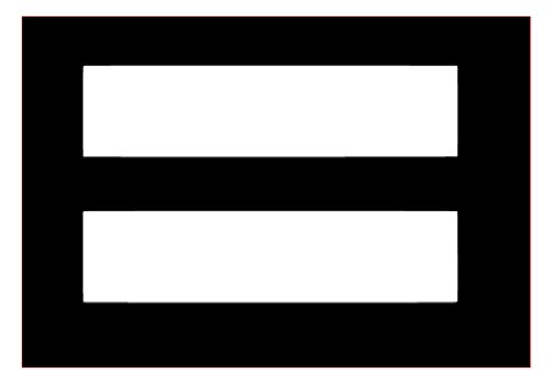 Math Equal Sign Marriage Equality Vinyl Sticker Decals for Car Bumper Window MacBook pro Laptop iPad iPhone (3