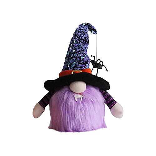 Bluecatlala Halloween Doll, Spider Shaped Printed Doll in Decoration Halloween Decoration Glowing Decoration (B)