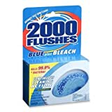 toilet chlorine tabs - WD-40 Company Toilet Bowl Cleaner, Bleach Tablets, 2/Pk, 3-1/2 oz, Blue