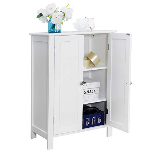 Amazon.com: ZENSTYLE Bathroom Floor Storage Cabinet Free