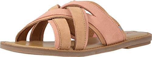 (TOMS Women's Val Coral Pink Suede 11 B US)