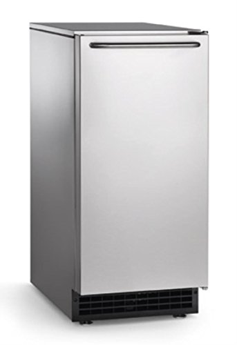 Scotsman CU50GA Undercounter Ice Maker, Gourmet Cube, Air Cooled, Gravity Drain with Cord, 115V/60/1-ph, 14.4 Amp (15 Amp Circuit Required), 14.9' Width x 22' Diameter x 34.4' Height