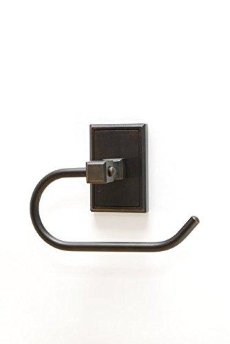 Residential Essentials 2507VB Hamilton Euro Tissue Holder, 7.125'' x 5'', Venetian Bronze