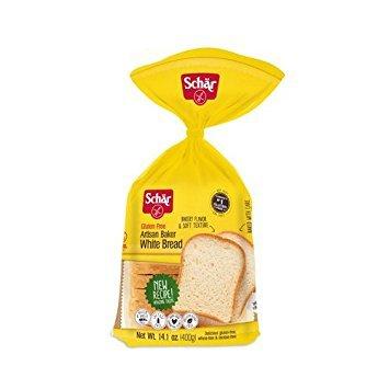 Dr Gluten Schar Free (Schar Gluten-Free Artisan Baker White Bread 14.1 Ounce (6 Pack))