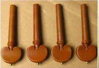 Clavijas de afinación para violín tamaño completo 4/4Nuevo Lovely de madera tallada CJ Stephen Music Supplies