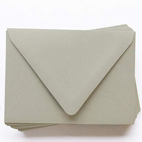 - A7 Gmund Colors Matt Stone Envelopes - Euro Flap, 68T, 25 Pack