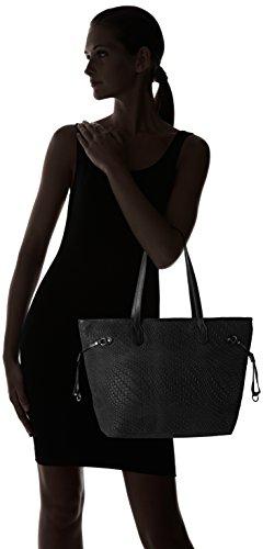 80061 Nero de hombro Borse bolsos y Negro Mujer Chicca Shoppers a5vSw5q