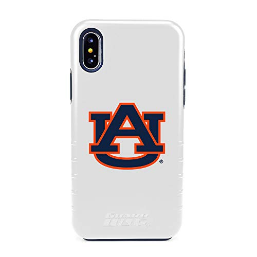 Guard Dog Auburn Tigers Hybrid Case for iPhone X/Xs - White