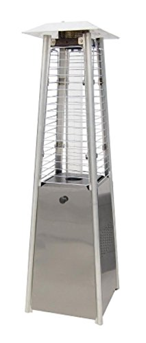 Tabletop Propane Patio Heater Finish: Stainless (Stainless Steel Tabletop Patio Heater)