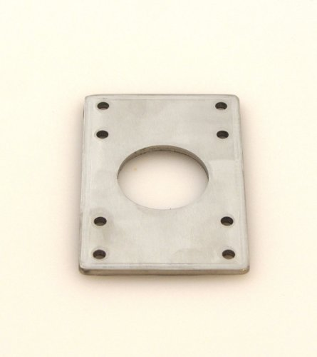 MakerBeam NEMA 17 bracket stainless steel (pack of 2) designed for MakerBeam (10x10mm in diameter).