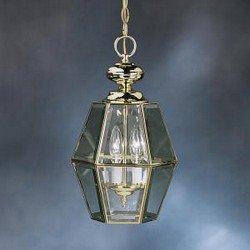 Kichler Polished Brass Outdoor Pendant 3 Light Incandescent 9836PB