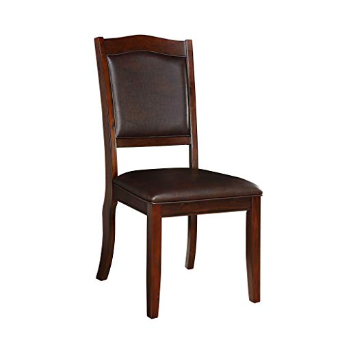 (Homelegance 5617 Dining Chair (Set of 2), Cherry)