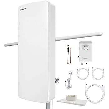 Amazon Com Antop Hdtv Antenna With Smart Boost System
