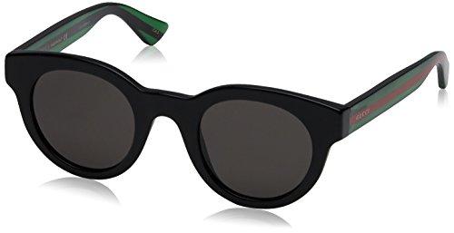 Gucci Unisex Fashion Sunglasses, Black, - Gucci Sunglasses Unisex
