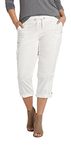 Maurices-Womens-Plus-Size-Cargo-Capri-With-Ribbed-Waistband-In-White