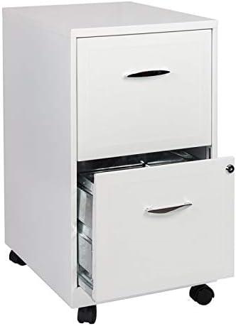 Scranton Co 2 Drawer Steel Mobile File Cabinet
