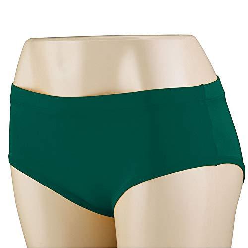 Augusta Sports Girls X-Small Dark Green Briefs