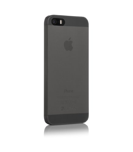Caudabe: The Veil iPhone SE/5s Premium Ultra Thin iPhone Case (Wisp Black) [Retail packaging]