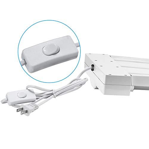 AntLux Linkable 4FT LED Shop Lights For Garage, 25W T8