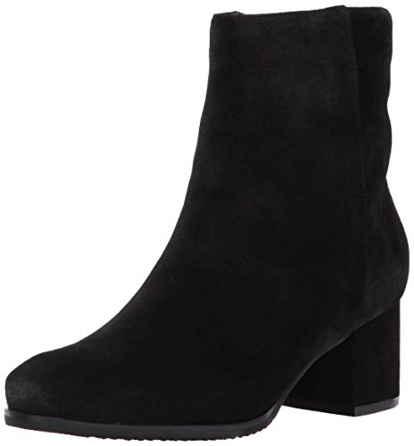 Blondo Women's Alida Ankle Boot, Black Suede, 11 M US