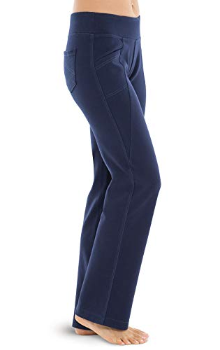 PajamaJeans Stretch Jeans for Women - Yoga Jeans, Bootcut, Indigo, 1X / 16-18W