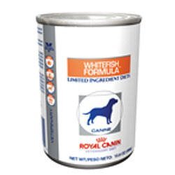 Royal Canin Veterinary Diet Canine Hypoallergenic PW Potato & Whitefish Canned Dog Food 24/13.6 oz by Royal Canin Veterinary Diet by Royal Canin Veterinary Diet