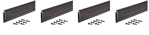 M-D Building Products 69609 1-1/4-Inch EPDM - 48-Inch DB006 Commercial Grade Door Sweep, Bronze (4-(Pack))