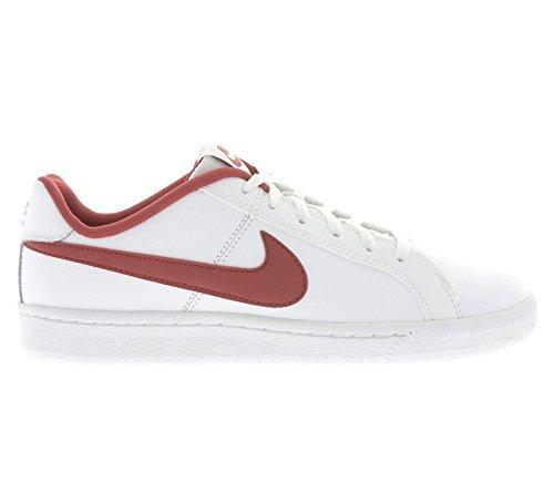 Nike White/University Red, Zapatillas de Deporte para Niños Blanco (White / University Red)