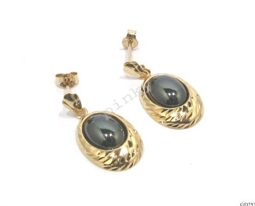 Hematite Pattern Earrings - 9