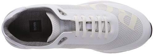 Sneaker 100 logo2 Weiß BOSS Herren Velocity White Runn xHnxI4q