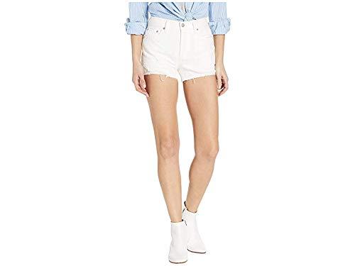 Free People Women's Sofia Shorts, White, 30