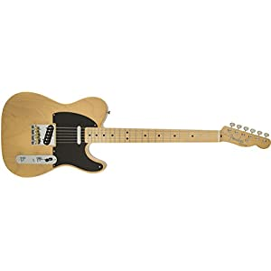 Fender 0141502307 Classic Player Baja Telecaster Maple Fingerboard Electric Guitar – Blonde
