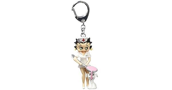 Amazon.com: Plastoy – Llavero, diseño de Betty Boop ...
