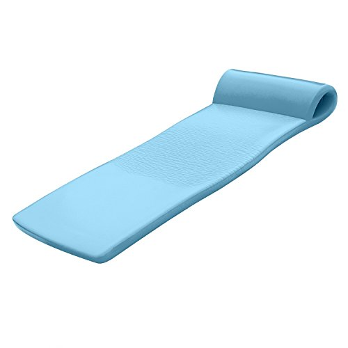 Vinyl Coated Foam (TRC Recreation Sunsation Pool Float, Metallic Blue)