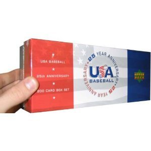 2004 Upper Deck USA Baseball Cards Factory Sealed Hobby Set (3 Autographs & 1 Jersey Per Set )