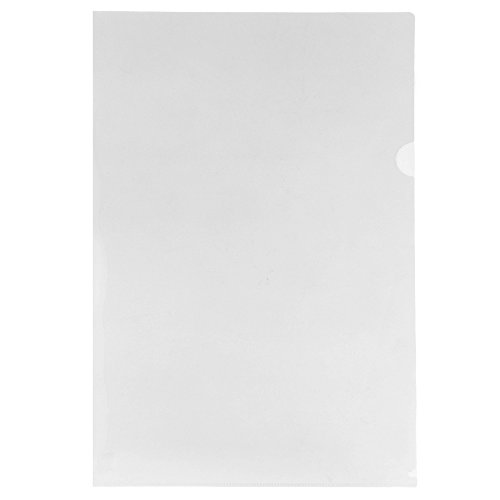 "JAM Paper Plastic Sleeves - Legal Size - 9"" x 14 1/2"" - Clear - 12/Pack"