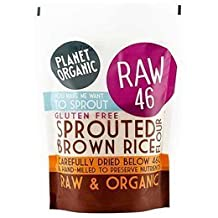 Planet Organic Sprouted Brown Rice Flour 400g by Planet Organic