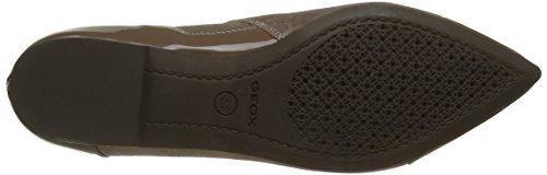 Geox D Rhosyn D, Zapatos de Tacón para Mujer Beige (OLD ROSE/DESERTCA85L)