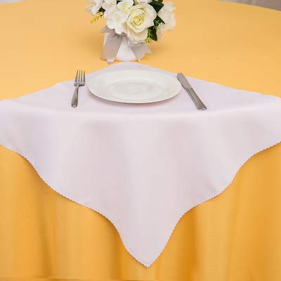Elehere Cloth Dinner Table Napkins17 x 17 Inch Polyester Set of 8 Machine Washable Restaurant/Wedding/Hotel/Daily Tabletop Accessories(Napkin 17\