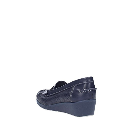 MELLUSO - Mocasines para mujer azul Size: 38
