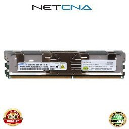 39M5785 2GB (2x1GB) IBM Compatible Memory System X x3550 DDR2-667 Fully Buffered Kit 100% Compatible memory by NETCNA ()