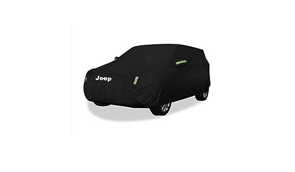 Tama/ño: tela Oxford - incorporado lintM Cubierta del coche cubierta del coche Jeep Compass cubierta del coche SUV gruesa tela Oxford Protecci/ón Solar lluvia caliente de la cubierta cubierta del coche