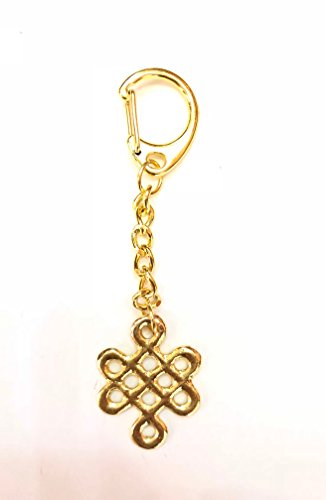 Feng Shui Mystic Knot Amulet KeyChain - Mystic Knot Symbol