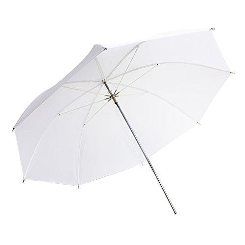 FOTOCREAT 36''(90cm)Studio Lighting Umbrella Translucent White soft Umbrella by FOTOCREAT