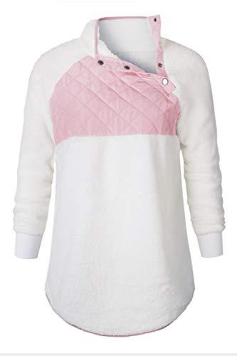 En À Automne Sweats Blanc Patchwork Femme Jersey Hiver Capuche BAqtw7xtUH