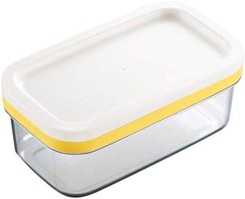 Recipiente para Mantequilla con Cuchillo de Mantequilla Caja de Dulces de Almacenamiento de Alimentos Fuente de Horno B S REFURBISHHOUSE Mantequera de Cer/áMica con Tapa
